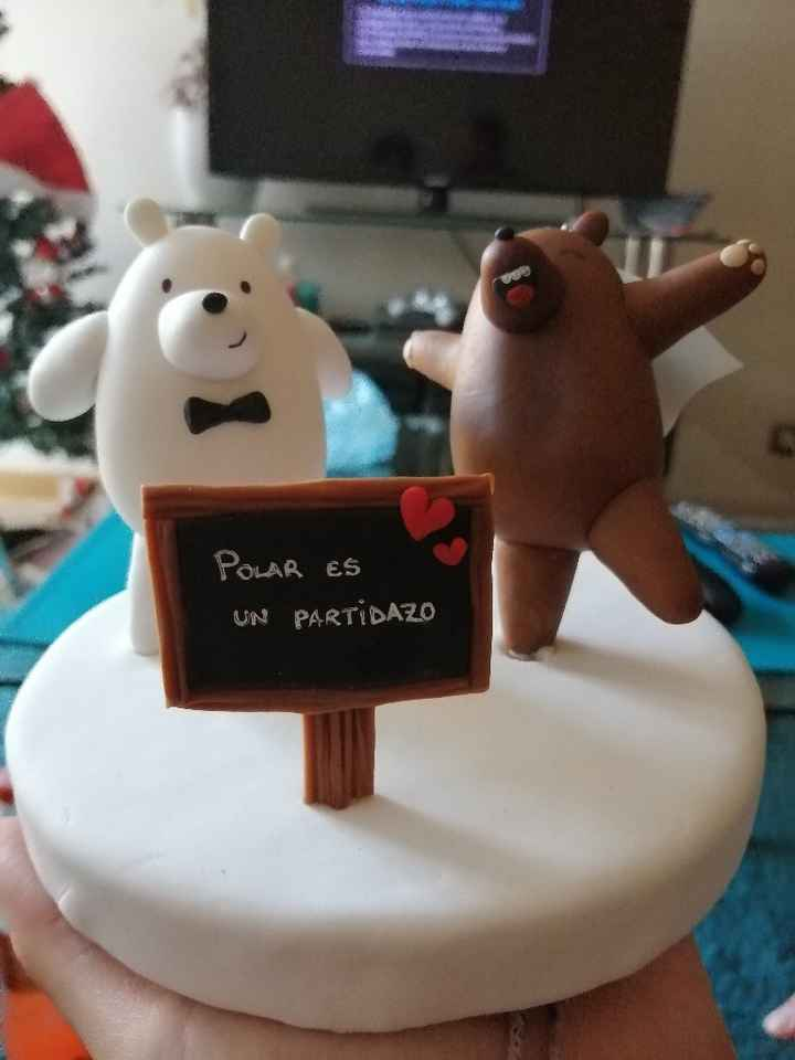 Mi cake topper - 3