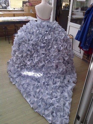 Como hacer un vestido de novia diy