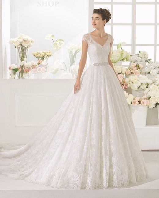 El vestido de novia ¿tendencia 2016 o 2017? 1