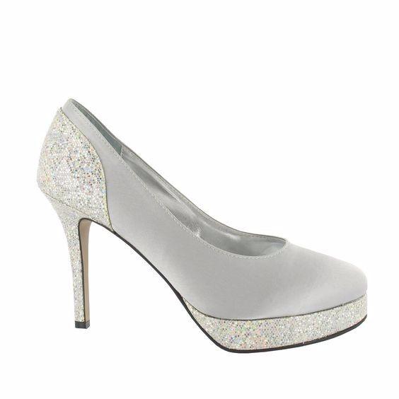 Zapatos de novia plateados cu l es para ti - Zapateria para ti ...