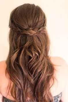 2. Peinado novia pelo suelto