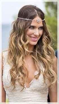 4. Peinado novia pelo suelto