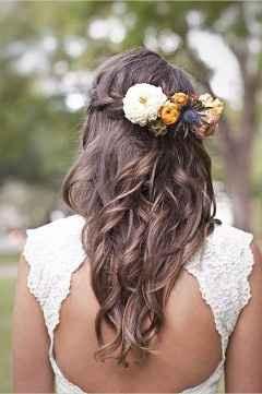 5. Peinado novia pelo suelto
