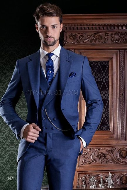 d4f144088ece6 Dilema con el traje de novio... no combina con el matrimonio!