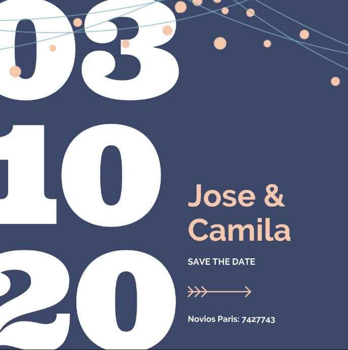 Save the date (votación) - 3