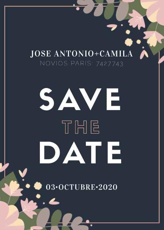 Save the date (votación) - 4