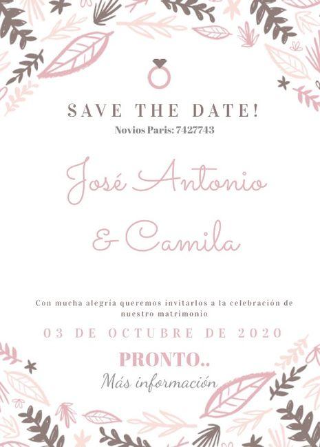 Save the date (votación) 2