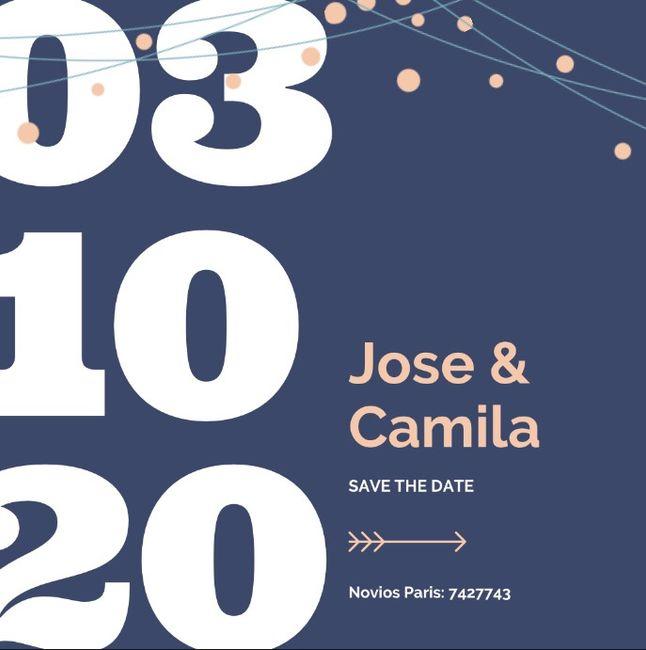 Save the date (votación) 3