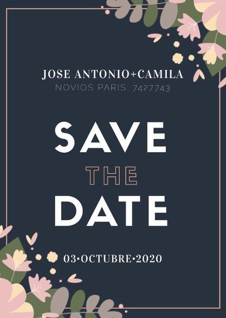Save the date (votación) 4