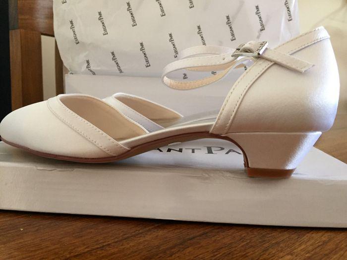 Zapatos novia taco bajo 2