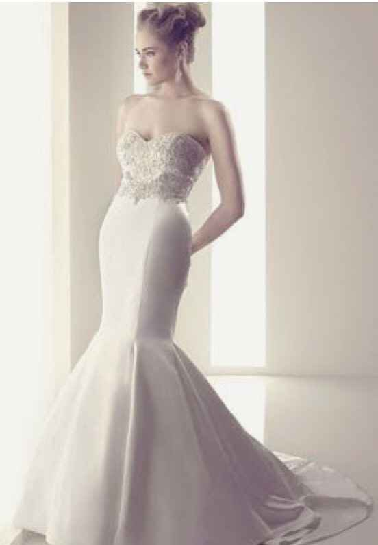 Vestidos de novia corte Sirena 🧜♀️ - 1
