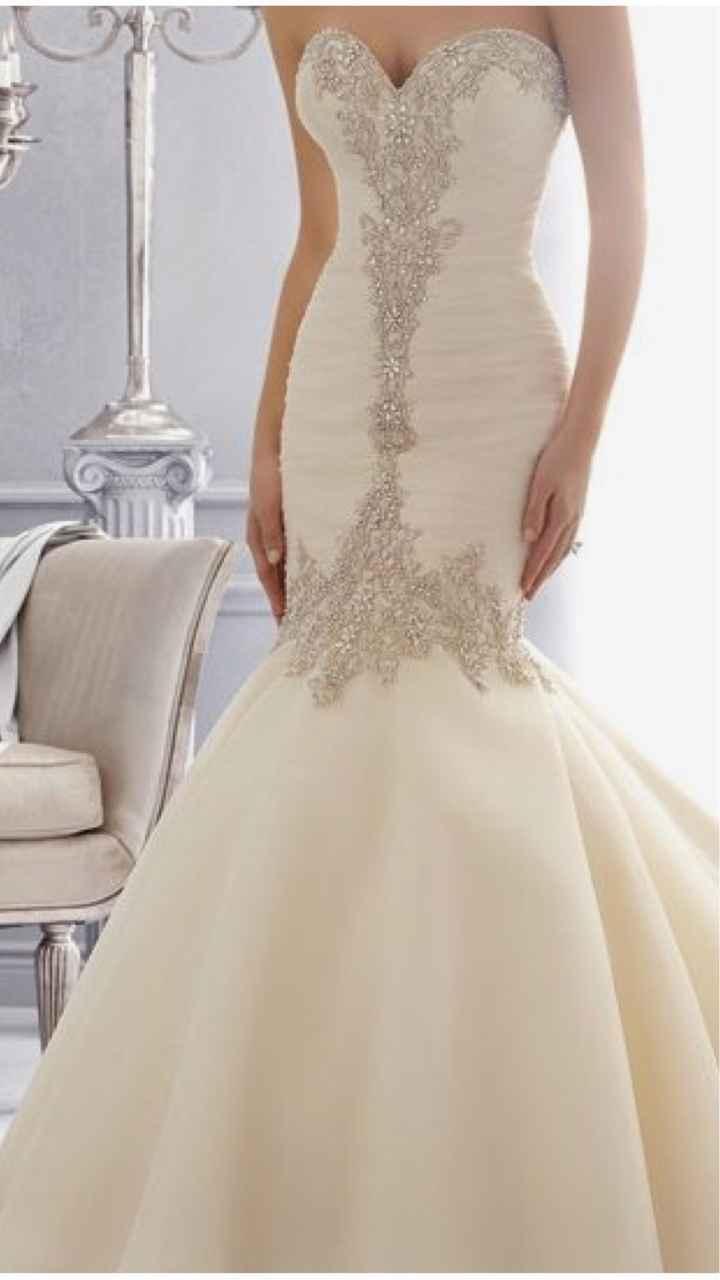 Vestidos de novia corte Sirena 🧜♀️ - 3
