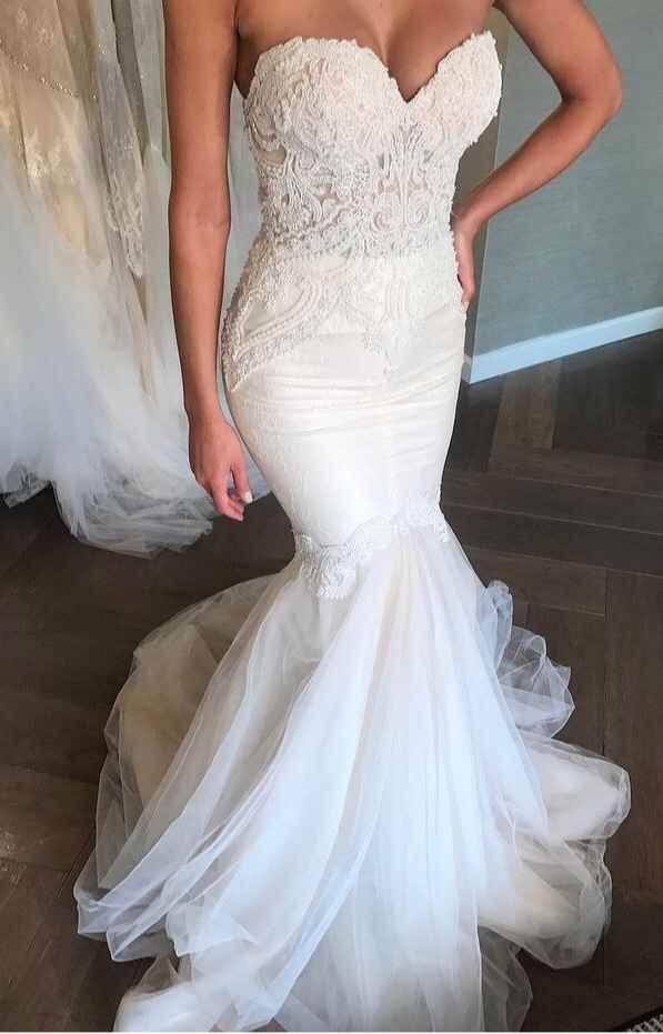 Vestidos de novia corte Sirena 🧜♀️ - 4