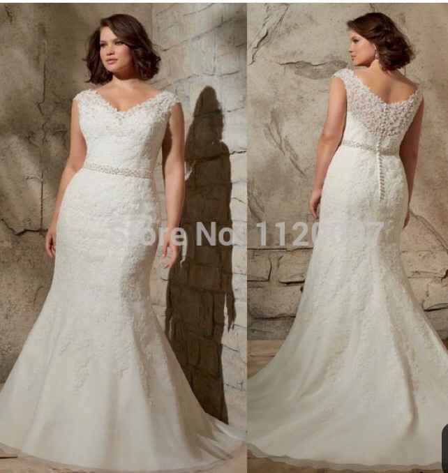 Vestidos de novia corte Sirena 🧜♀️ - 11