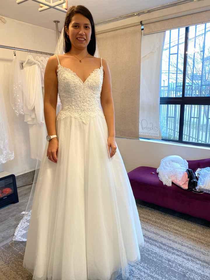 Mi vestido de novia 2.0 👰🏻❤️ - 3
