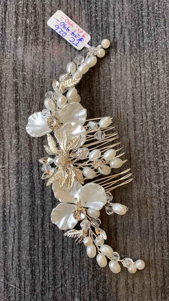 ¿Ya tienes tu tiara de novia? ¡Mira estas 4 hermosas opciones!👑 - 1