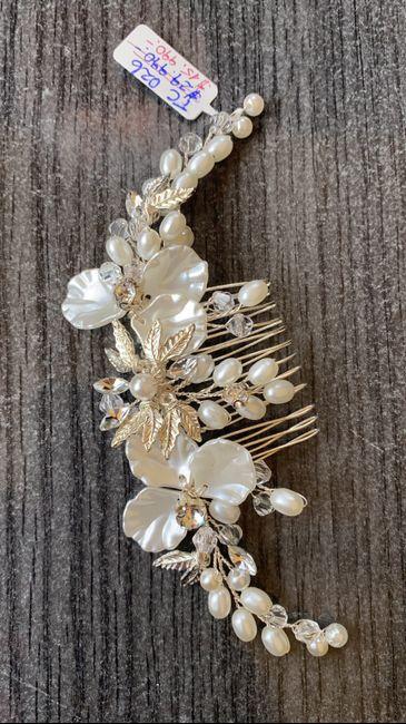 ¿Ya tienes tu tiara de novia? ¡Mira estas 4 hermosas opciones!👑 1