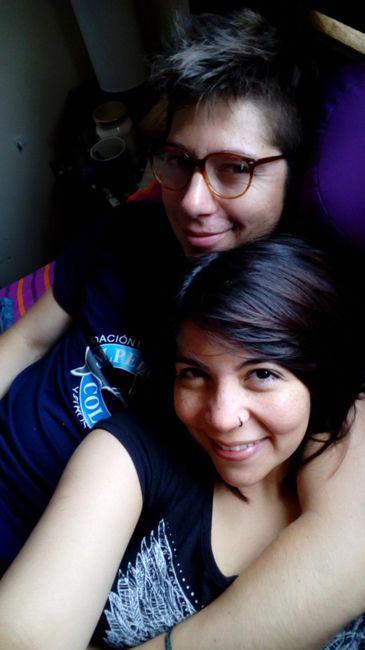Fran y Carlos, nuestro calendario de amor 1
