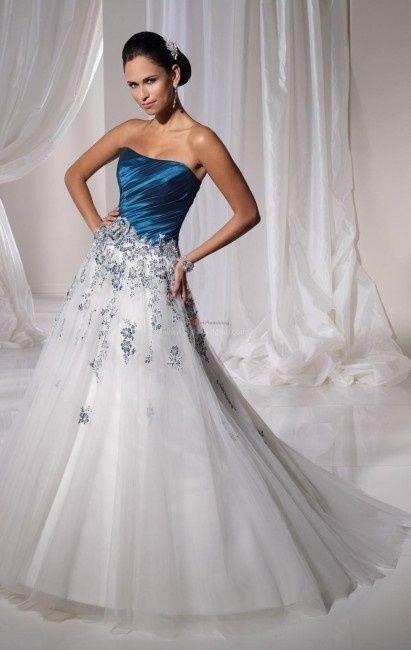 cuál es el significado del color de vestidos de novias?
