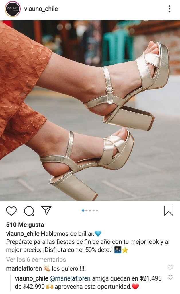 Dato de zapatos con descuento - 1
