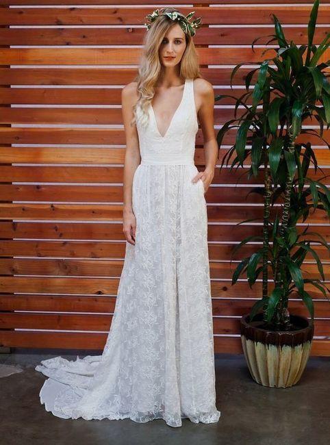 Datos de Vestido de novia! 2