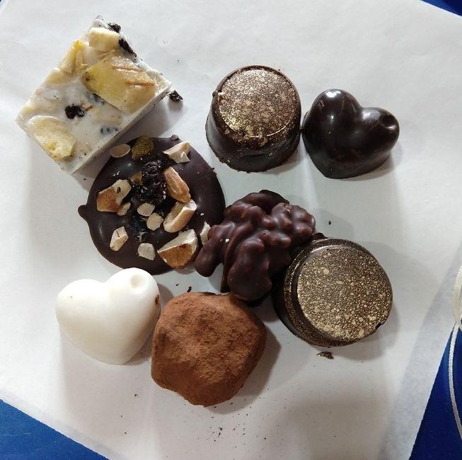 Chocolates para los invitados 🍫 - 2