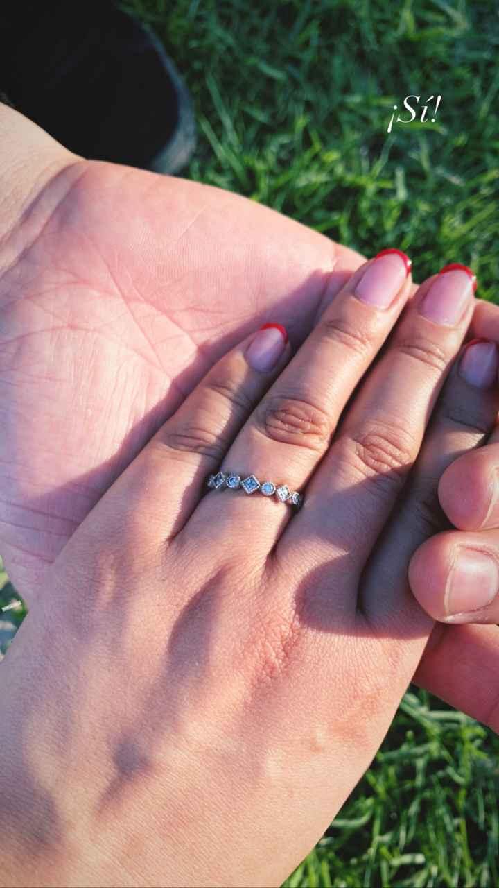2️⃣Si hubieras podido escoger tu anillo de compromiso... - 1