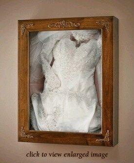 Caja guardar vestido novia