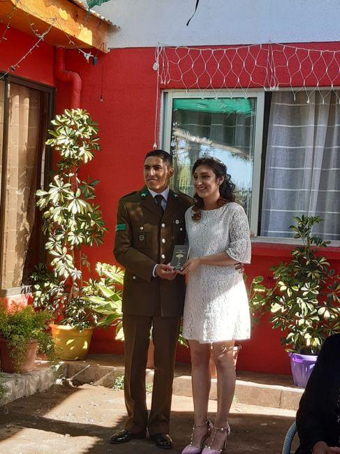 Novios que nos casamos el 7 de Febrero de 2020 en Curicó 4