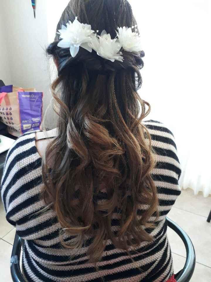 Maquillaje y peinado la serena - 3