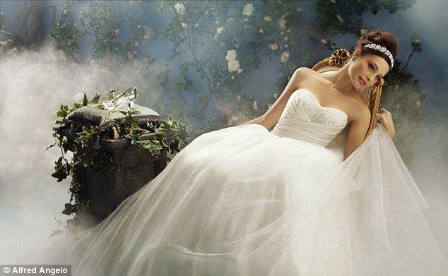 para las novias que aman el estilo princesa