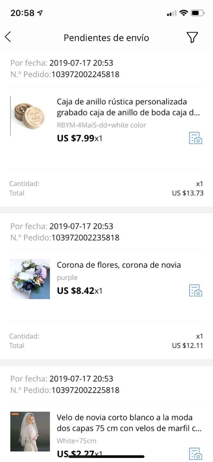 Primera vez comprando en Wish y Alixpress - 1