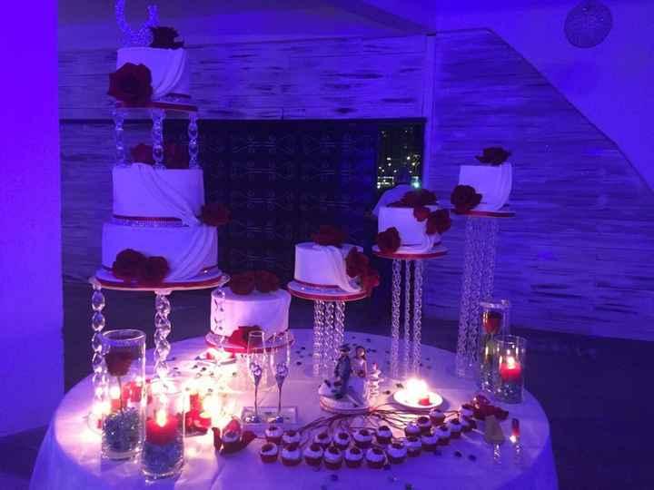Torta de la boda... ¿elegir sola o acompañada? - 4