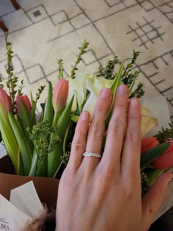 Tengo por fin mi anillo ajustado. - 1