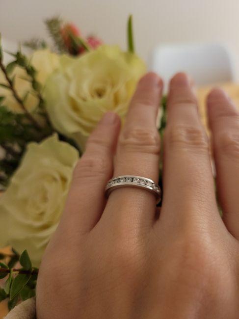 Tengo por fin mi anillo ajustado. 3