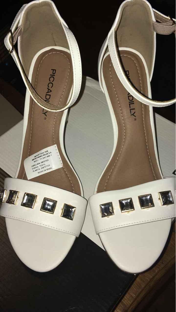 Mis zapatos para la boda civil - 1