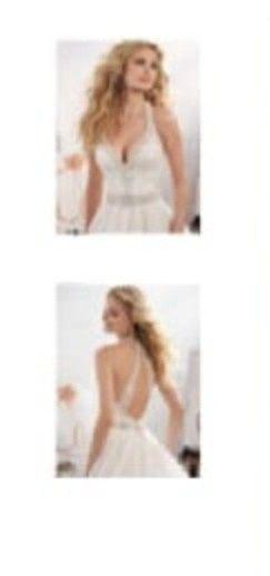 ¿Cómo será el escote delantero de tu vestido? 2