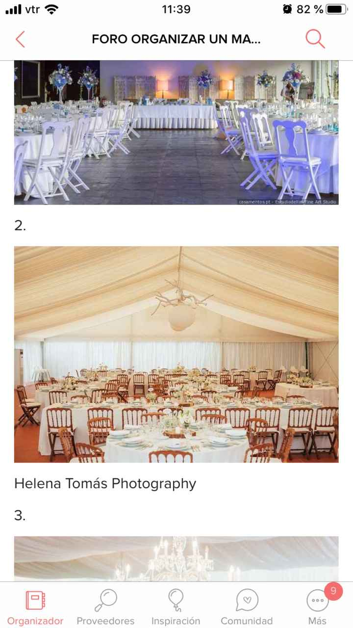 Tamara, si hoy me casara sería con este banquete - 2