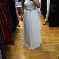 Enamorada de mi vestido, espero ya el gran día!