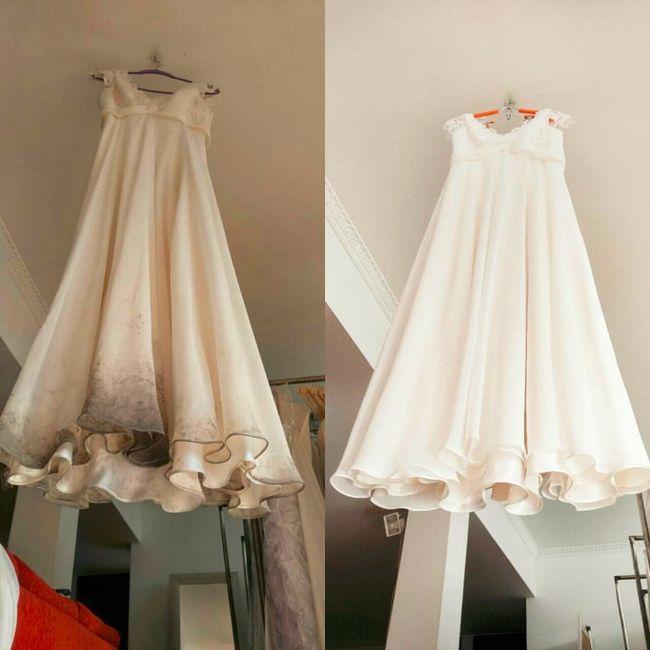 Precio de tintoreria para vestido de novia