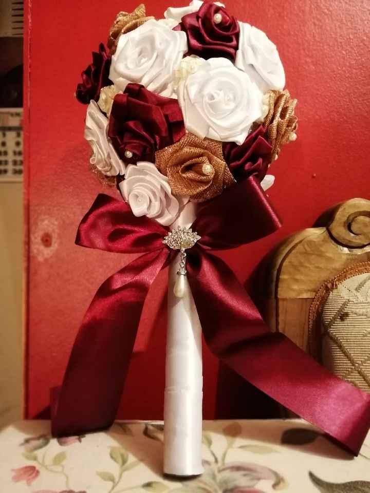 Mi ramo de novia terminado - 1