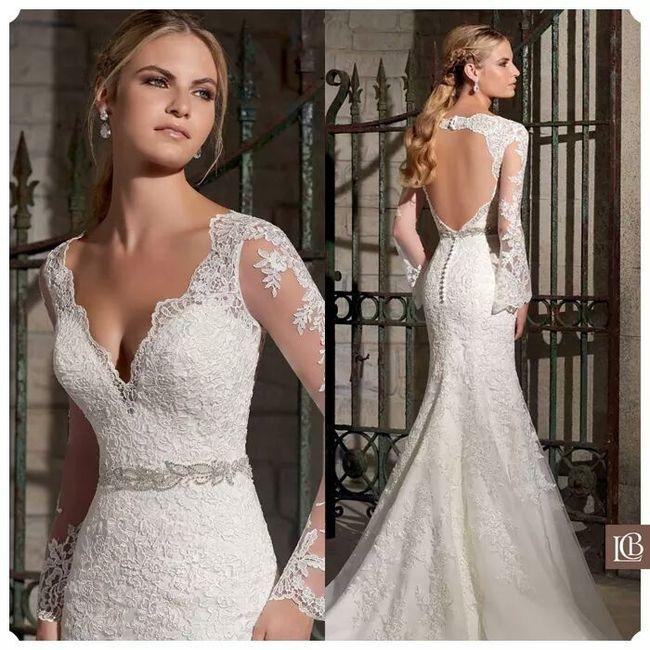 12 vestidos para una novia 2016 - 1