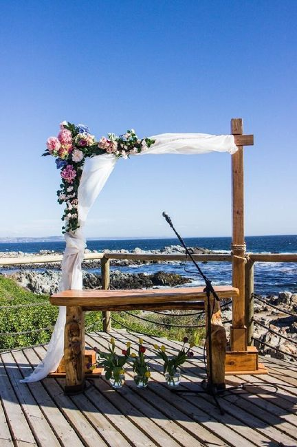 ¿Full BLANCO o full COLOR el altar para la ceremonia? - 2
