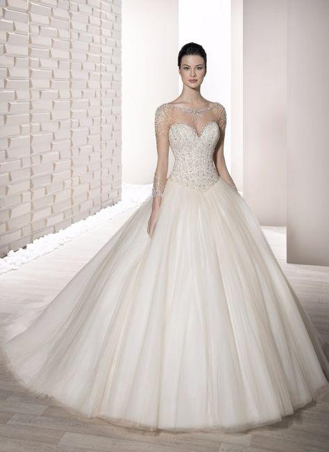 vestidos de novia manga larga. ¡elige uno!