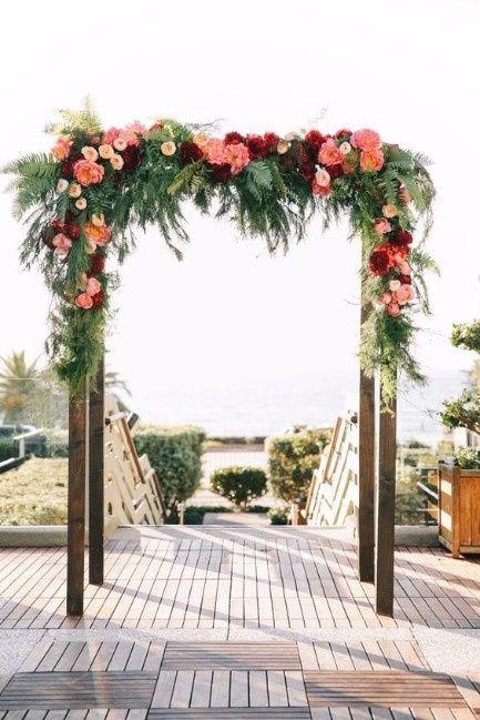 10 Arcos De Flores