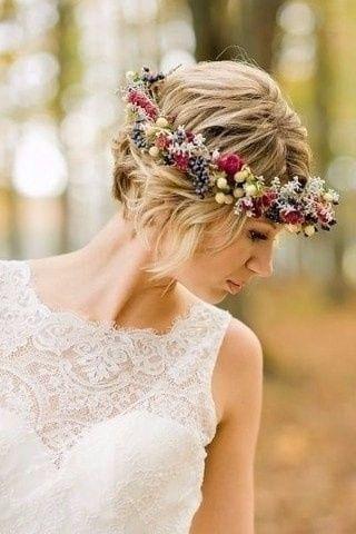 Peinados novia tendencia 2018