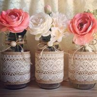 ¡19 Ideas para decorar DIY y utilizar frascos reciclados en tu boda!