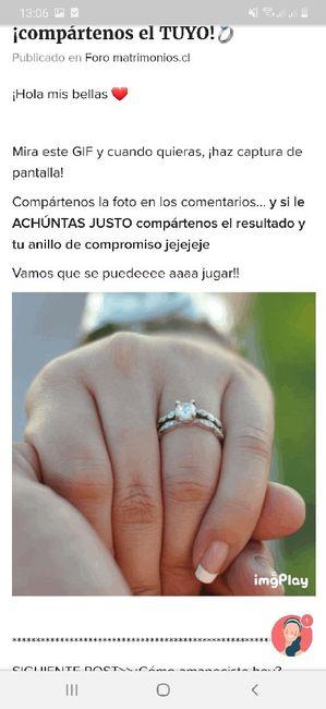 Achúntale al anillo y...¡compártenos el TUYO!💍 8