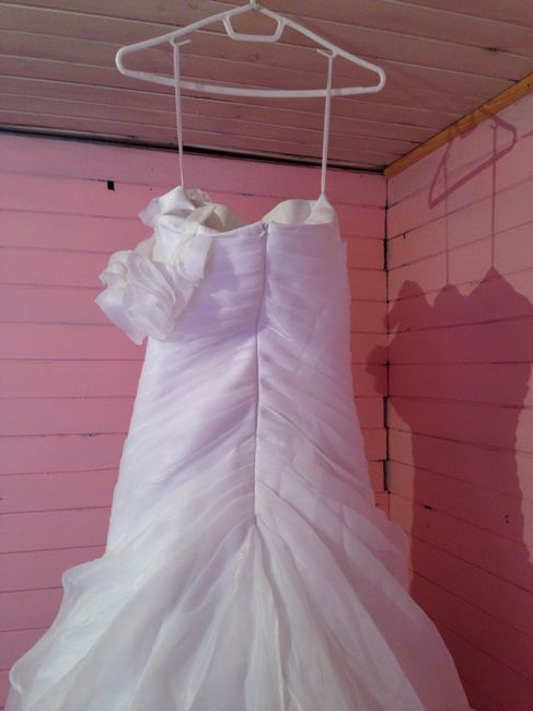 Aqui la va foto de vestido de novia que vendoo - 4