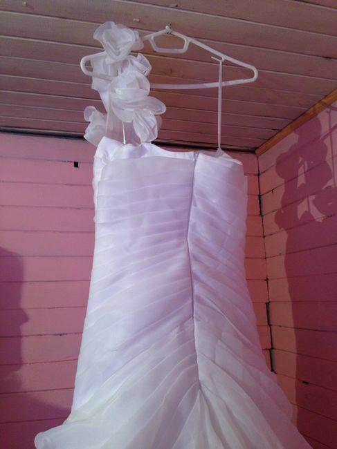 Aqui la va foto de vestido de novia que vendoo - 5